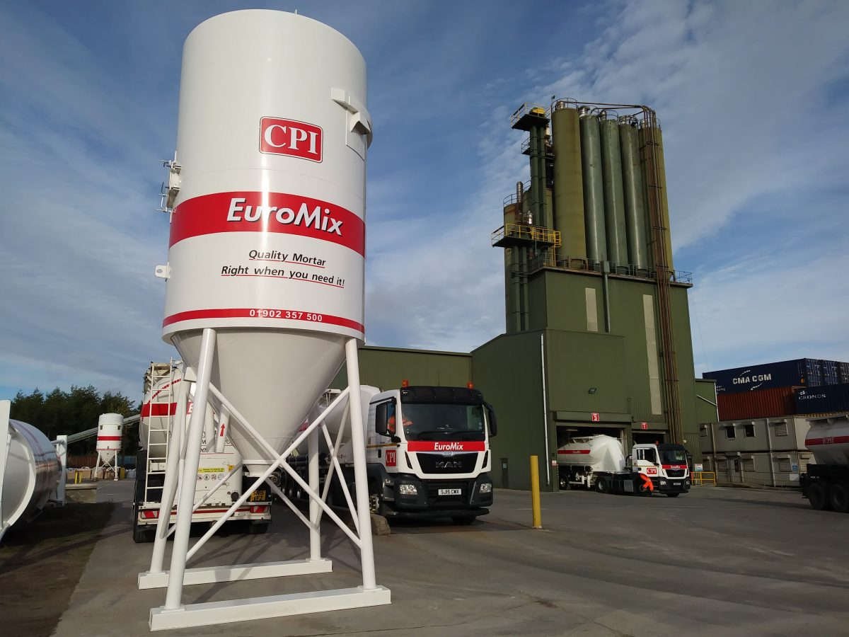 CPI Euromix eliminates mortar failure and wastage with Silo Mixing Station