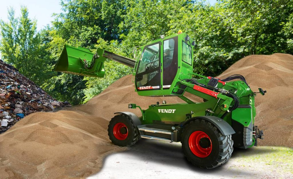 SENNEBOGEN enters agriculture market with telescopic handlers sold by AGCO/Fendt