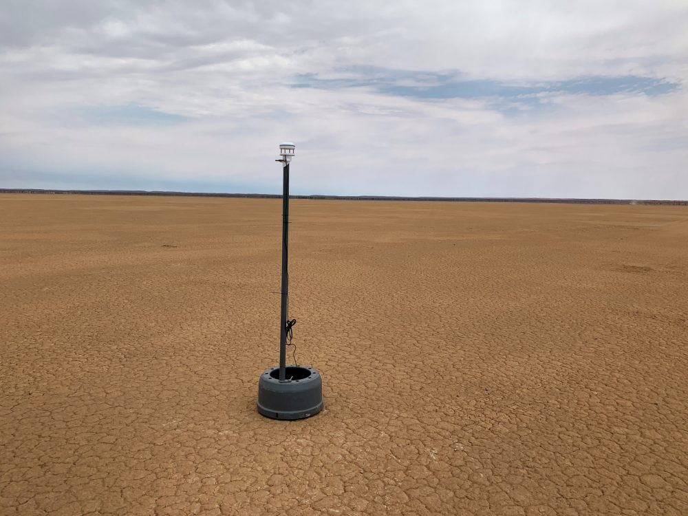 Weather monitoring system helping Bloodhound break the land speed record
