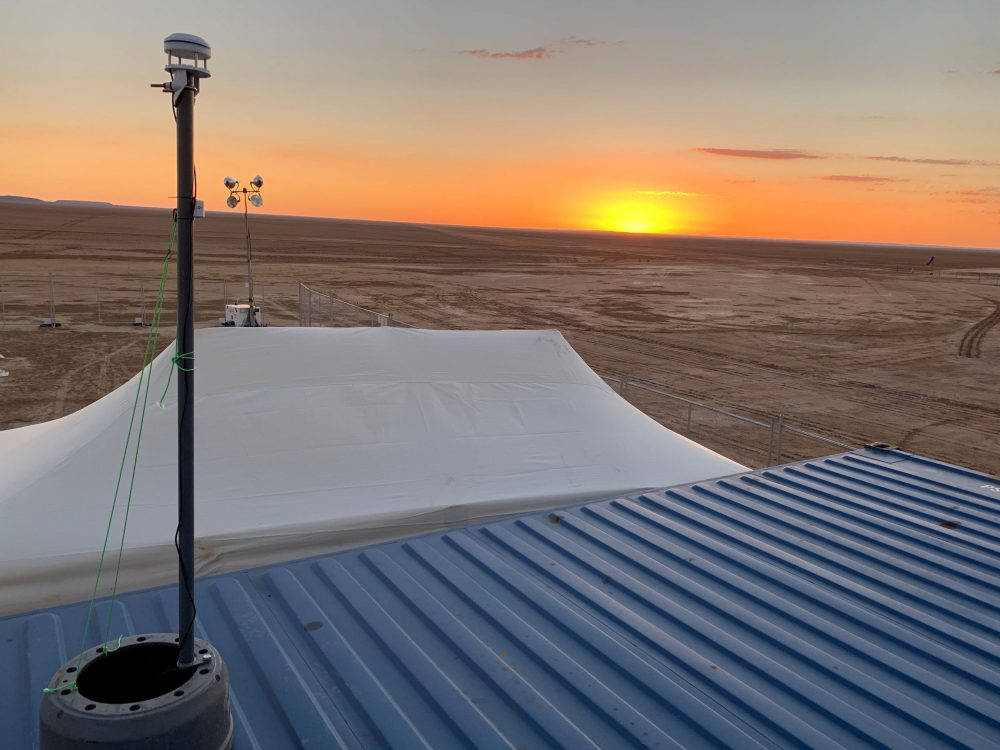 Digital Catapult weather monitoring system helping Bloodhound break the land speed record