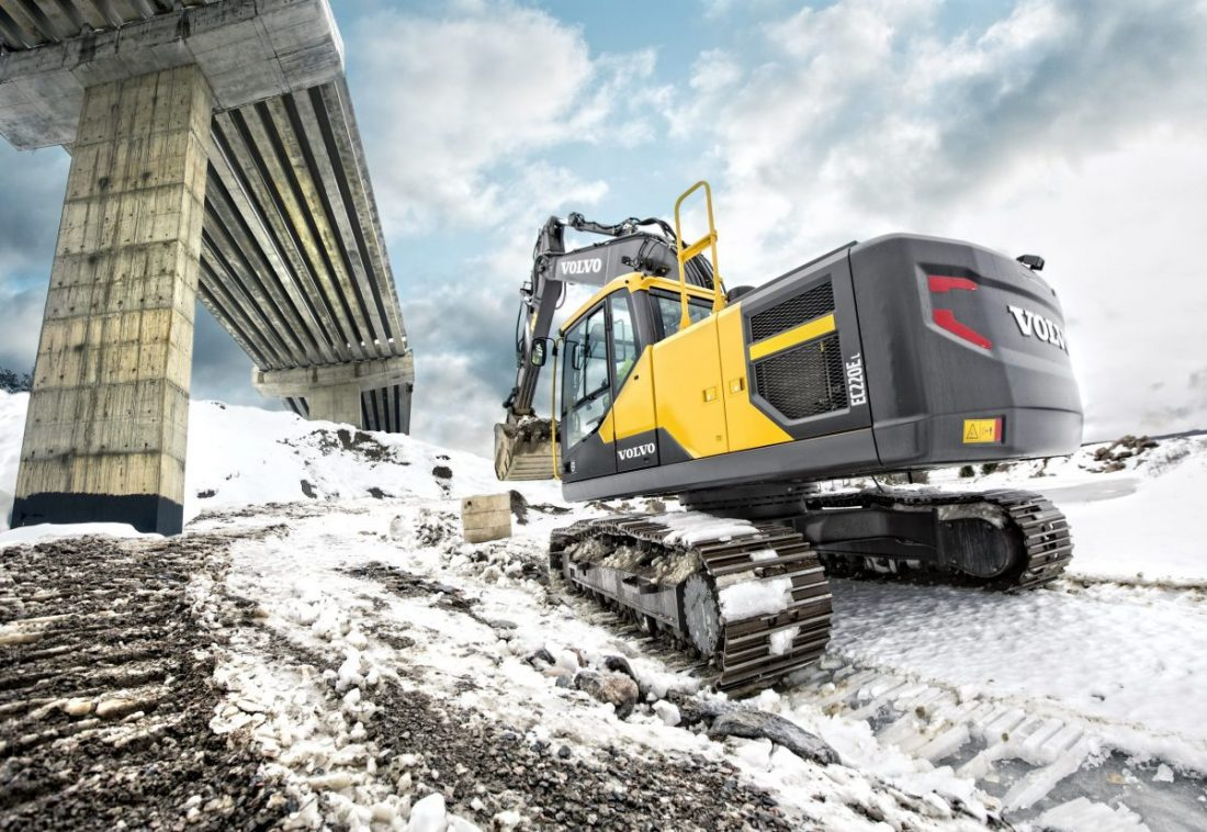 Winterising your Excavator for a cold winter