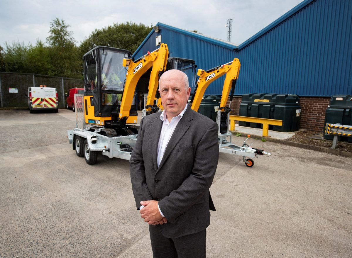 Electricity North West invests in new JCB Electric Diggers