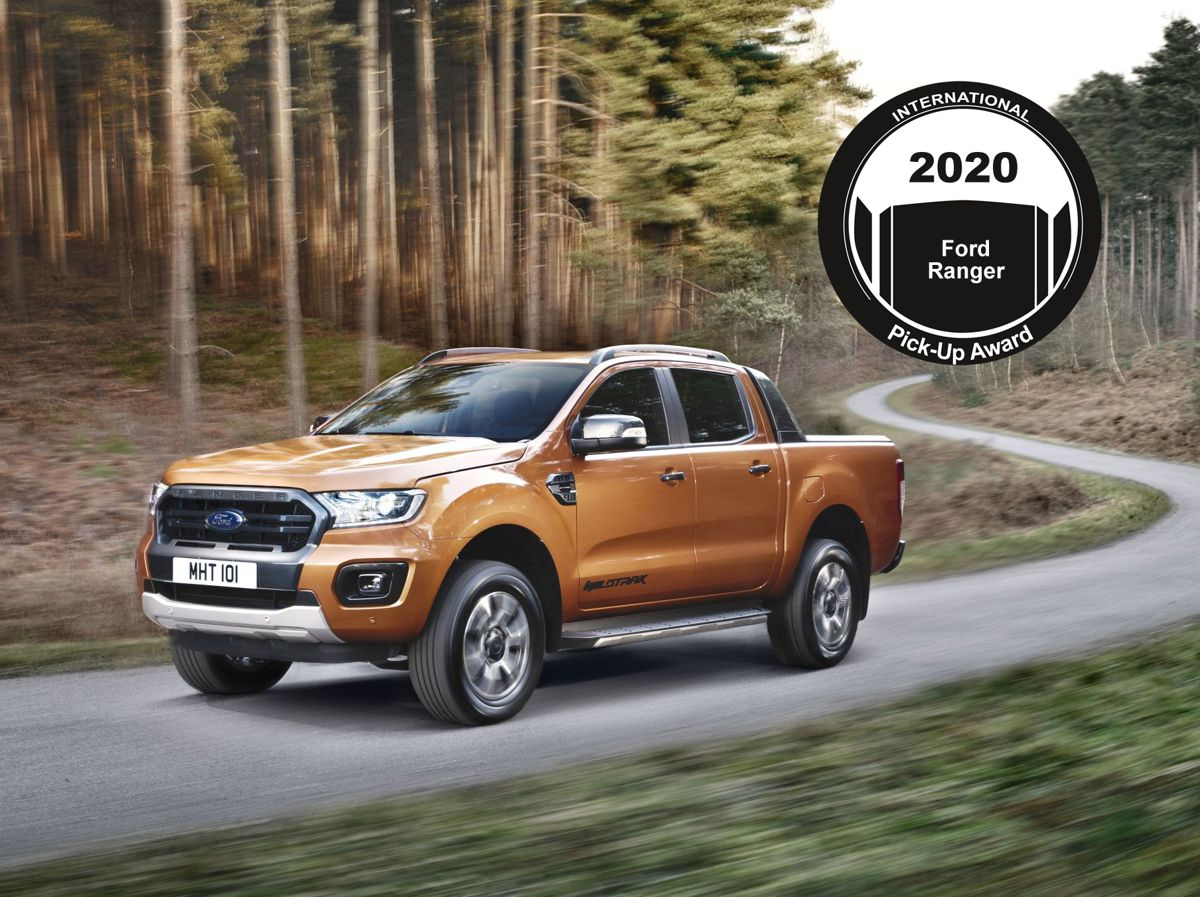 Ford Ranger wins 2020 International Pick-up Award