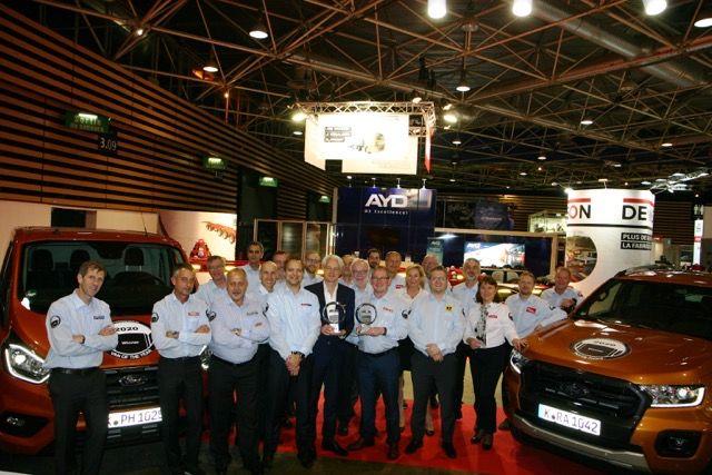 Ford Ranger wins 2020 International Pick-up Award