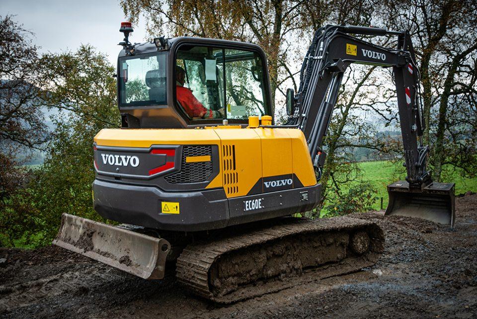 G A Henderson Plant Contractors bags a VolvoCE EC60E Excavator