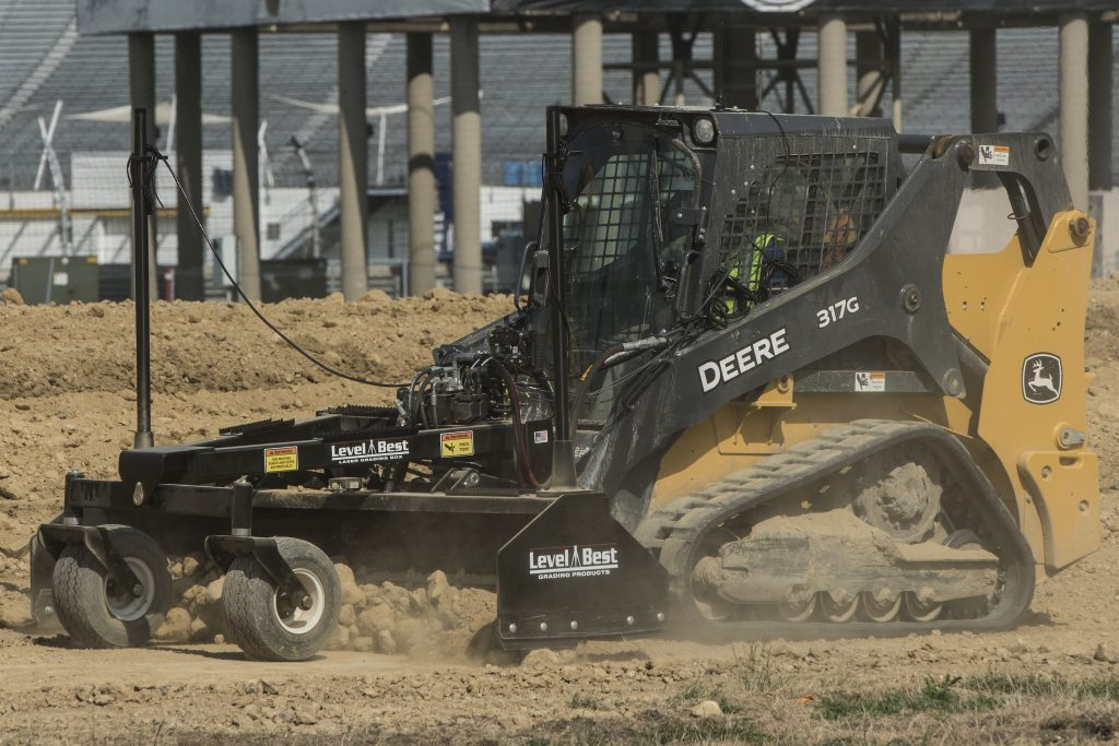 New Level Best Grade Controls for John Deere skid steers and compact track loaders