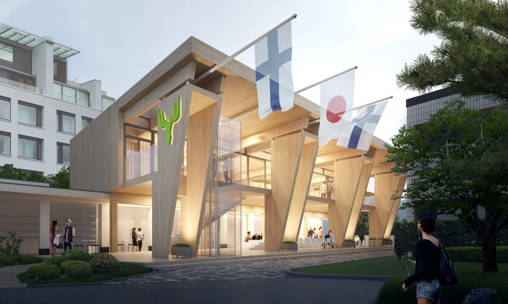 Metsa Pavilion - Tokyo 2020