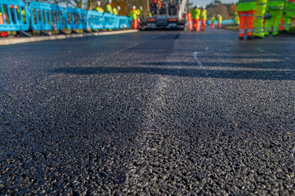Skanska experiments with innovative materials to drive green and durable roads