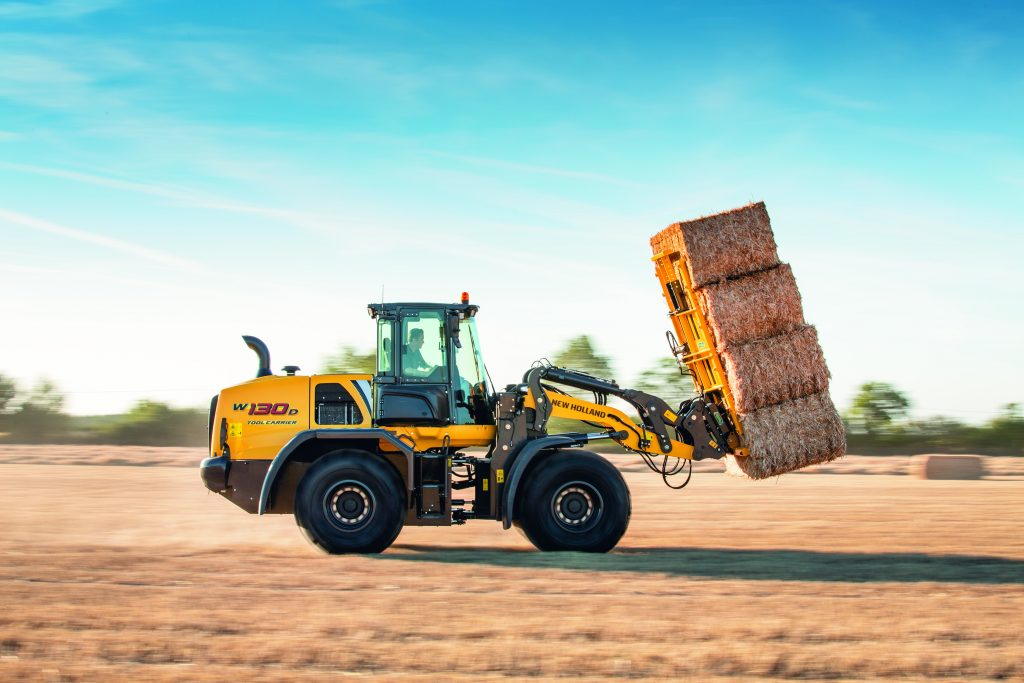 New Holland Wheel Loaders overhauled with Stage V compliant engines