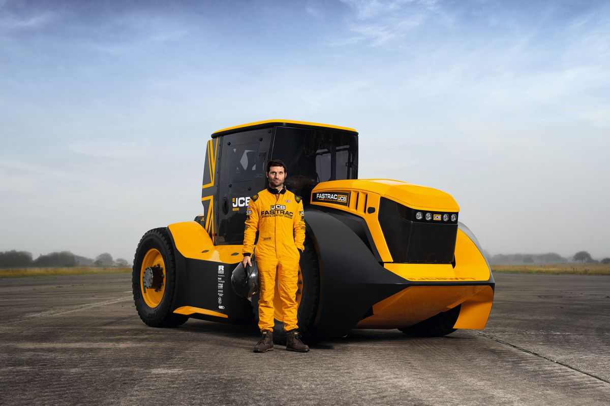 Williams Advanced Engineering helps JCB secure Tractor Speed World Record
