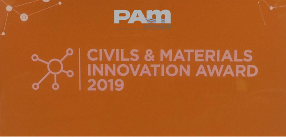 Saint-Gobain Pam UK's Install Plus wins Highways UK Innovation Award
