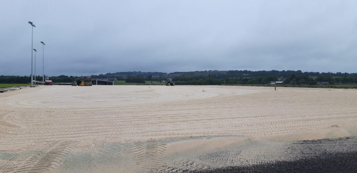Levenseat ProPitch sand provides the new base for Aberdeen FC development