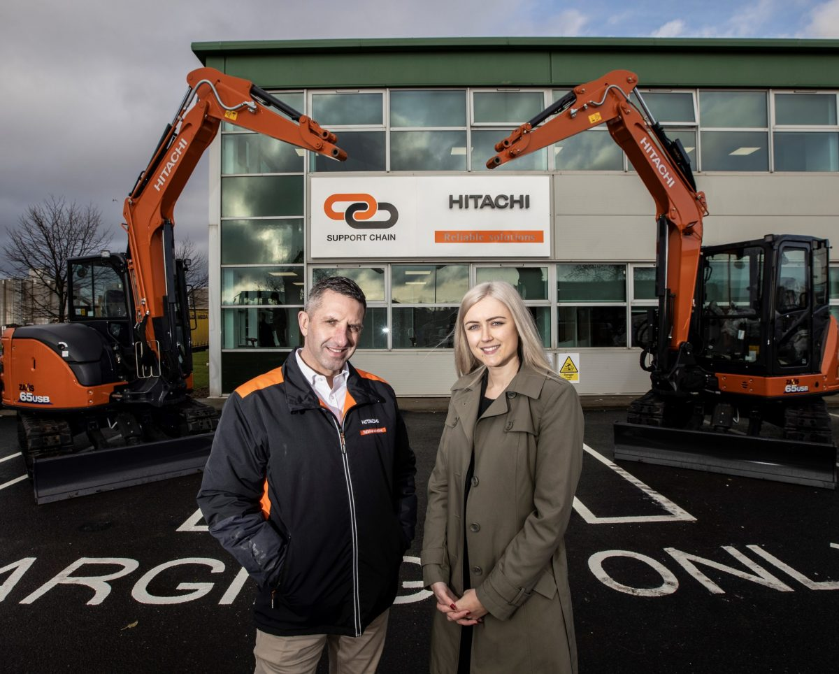 Hitachi Construction Machinery expands operations into Tyne Dock in South Shields
