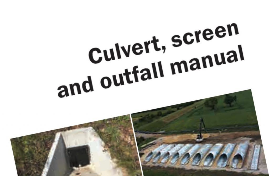 CIRIA publish new Culvert, screen and outfall manual