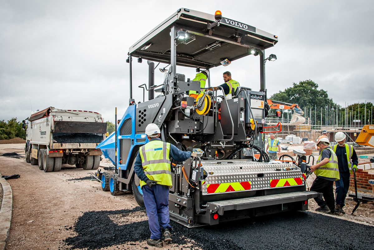 Volvo P6870C paves the way for Coatstone Surfacing