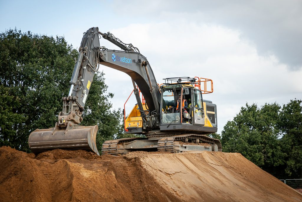 DS Watson Civil Engineering (Anglia) Ltd invests in a range of Volvo excavators