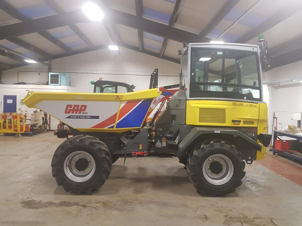 GAP Group stocks up on Wacker Neuson dual-view dumpers