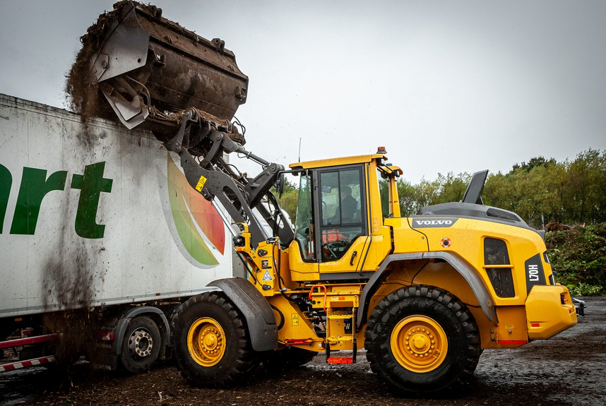 Greener Composting continues the Volvo Equipment family tradition