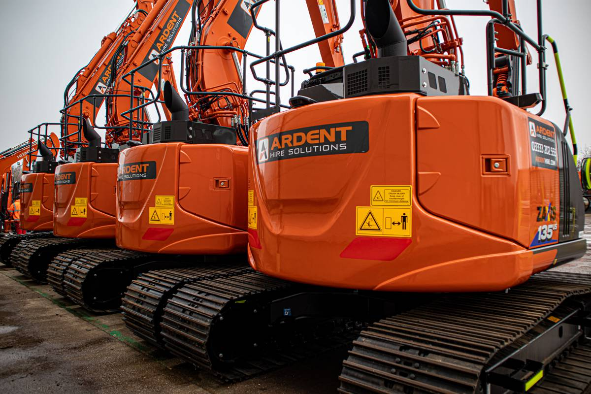 Ardent adds to £2m Hitachi Construction Equipment investment for Christmas