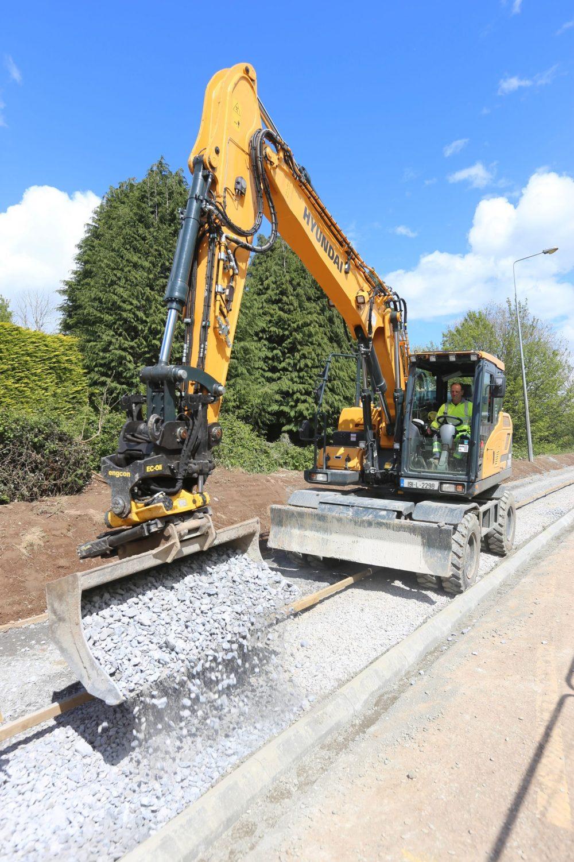 Collins Plant Hire boosts productivity with custom hi-tech Hyundai Excavator