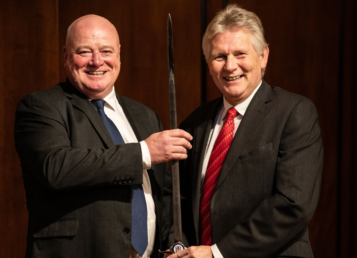 British Safety Council awards Ringway Jacobs the Sword of Honour