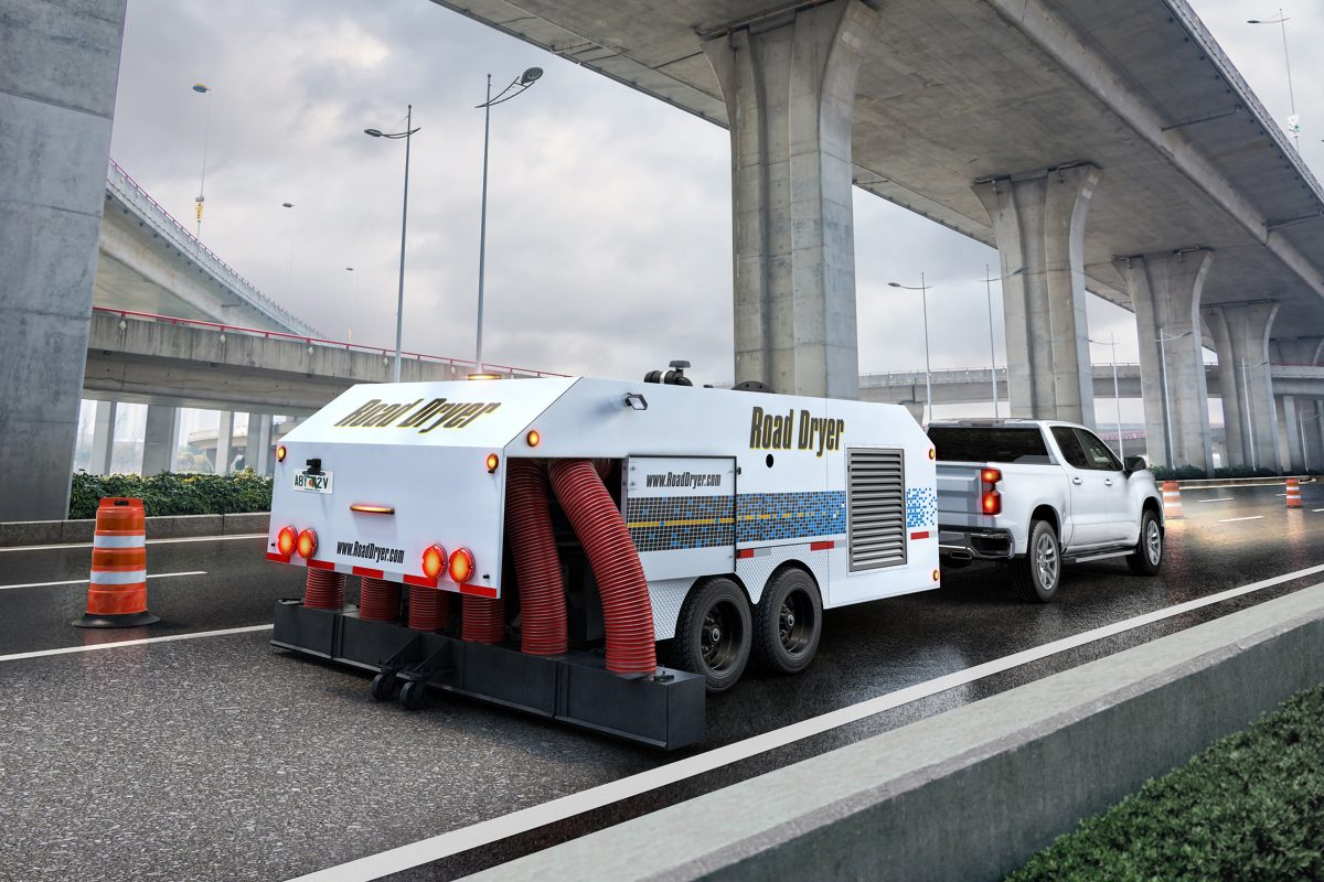 Discover Safe, Quick Pavement Drying with Road Dryer at CONEXPO