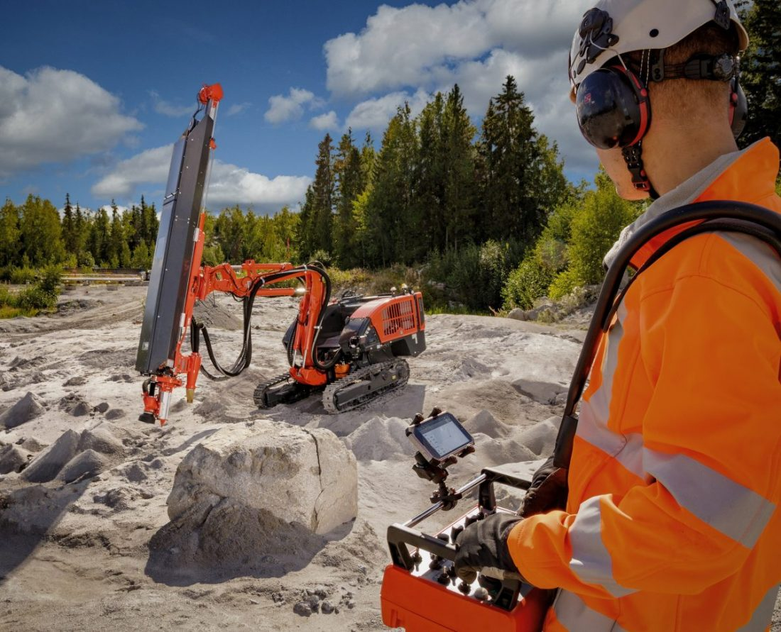 Sandvik Dino DC410Ri gets an upgrade with full radio remote control