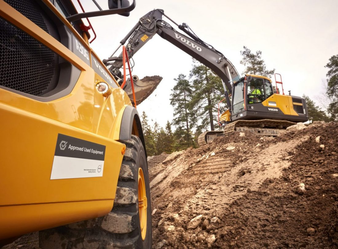 VolvoCE tips to increase machinery resale value