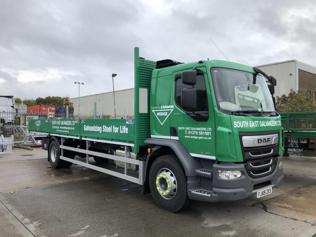 Wedge Group's new livery helps to galvanize their nationwide fleet
