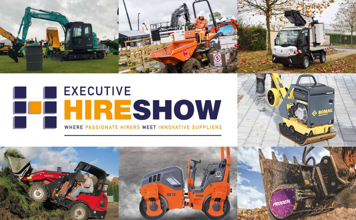 Executive Hire Show 2020 is the place to meet Hire Industry Professionals