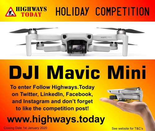 Highways.Today Holiday Competition - Win a DJI Macic Mini