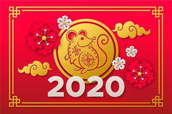 Happy New Year 2020, Year of the Rat