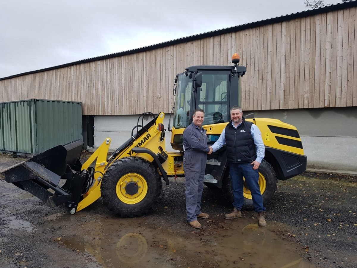 First Yanmar V80 wheel loader in the UK heads for Yorkshire's Masters Spreading