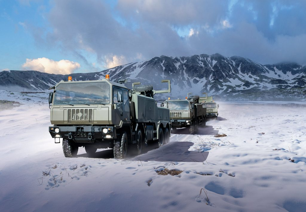 Iveco Defence Vehicles to supply 2,900 vehicles to the Romanian Armed Forces