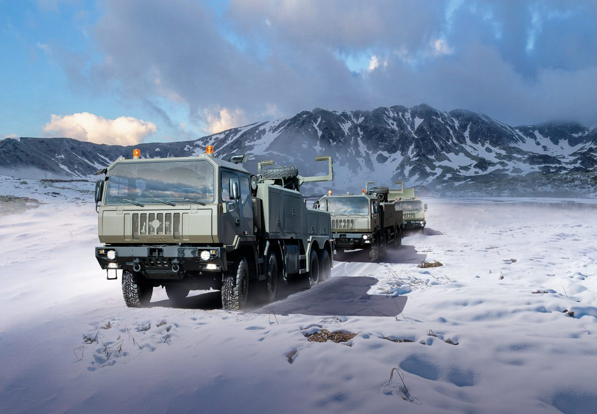 Iveco Defence Vehicles to supply 2,900 high mobility trucks to the Romanian Armed Forces