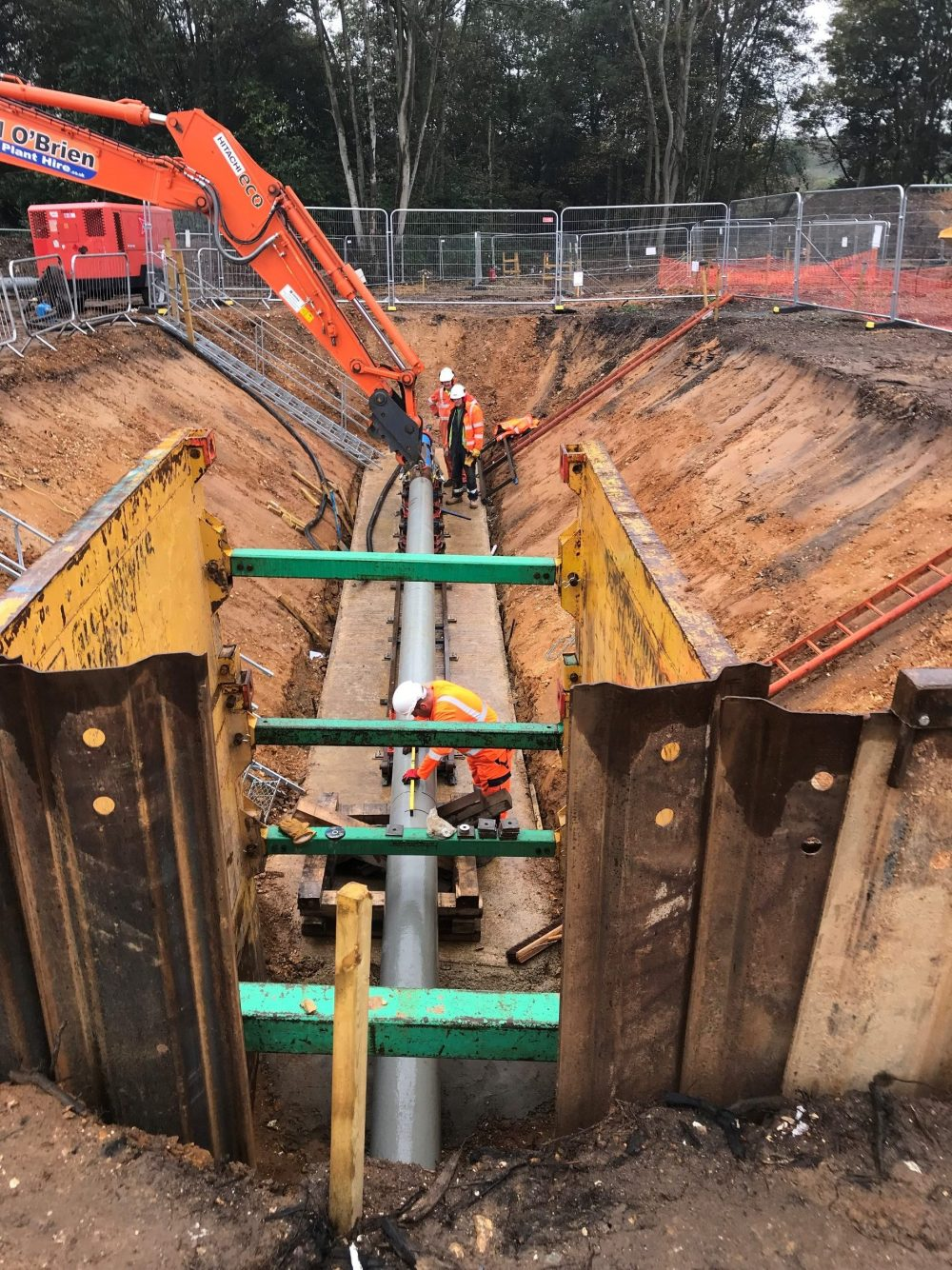 Tracto-Technik GRUNDORAM rammer works its magic for AMS Trenchless