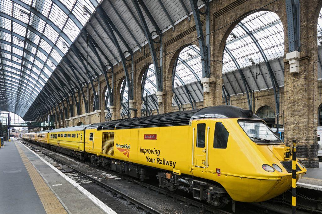 New Maintenance Train (NMT) at King's Cross platform