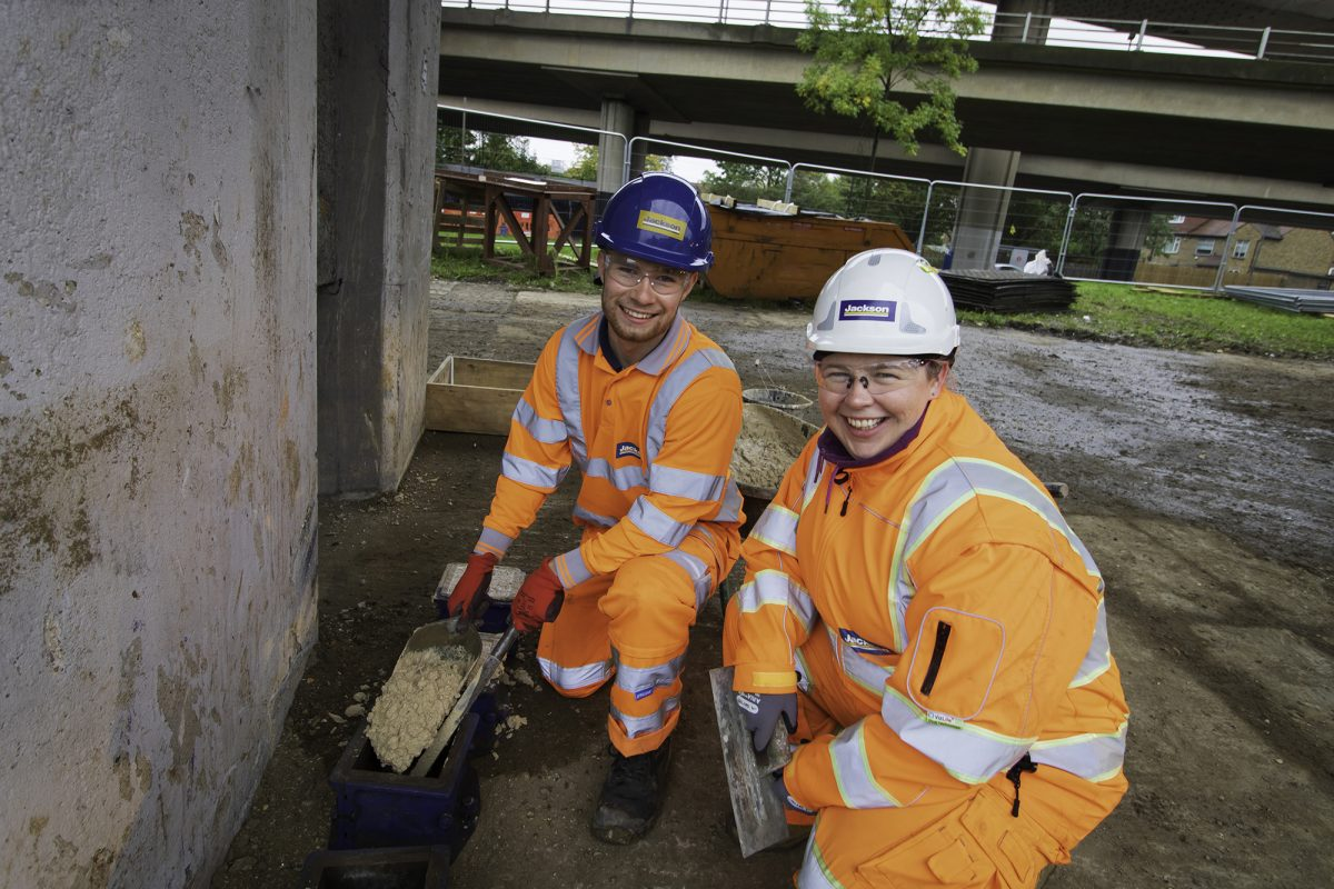DB Group achieve 77 percent CO2 reduction using Cemfree concrete on M25 pilot project