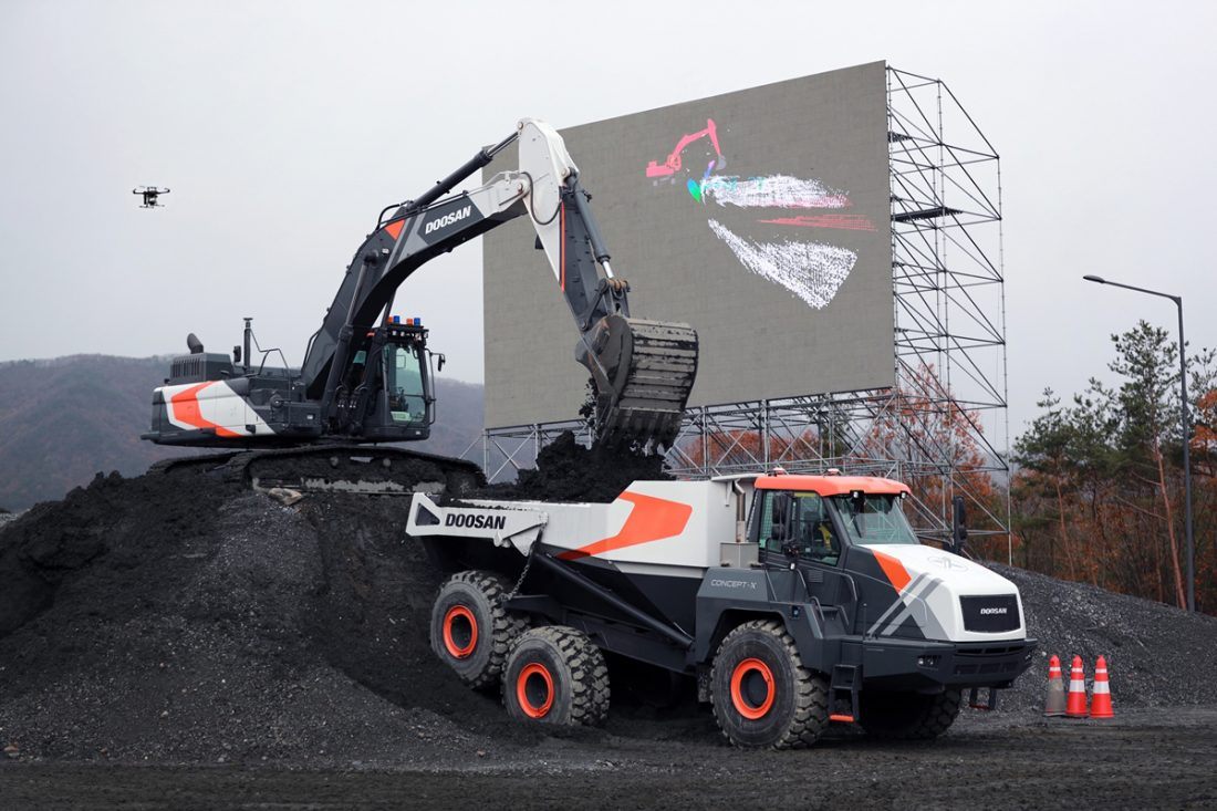 New Doosan products and innovation taking centre stage at Samoter