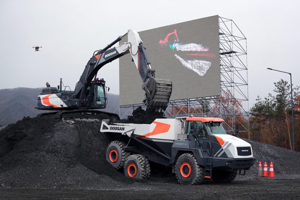 Doosan Infracore champions unmanned and automated construction site solutions