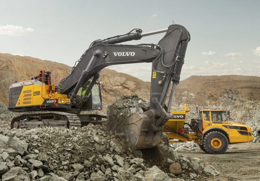 Volvo Construction 90-tonne excavator is now available worldwide