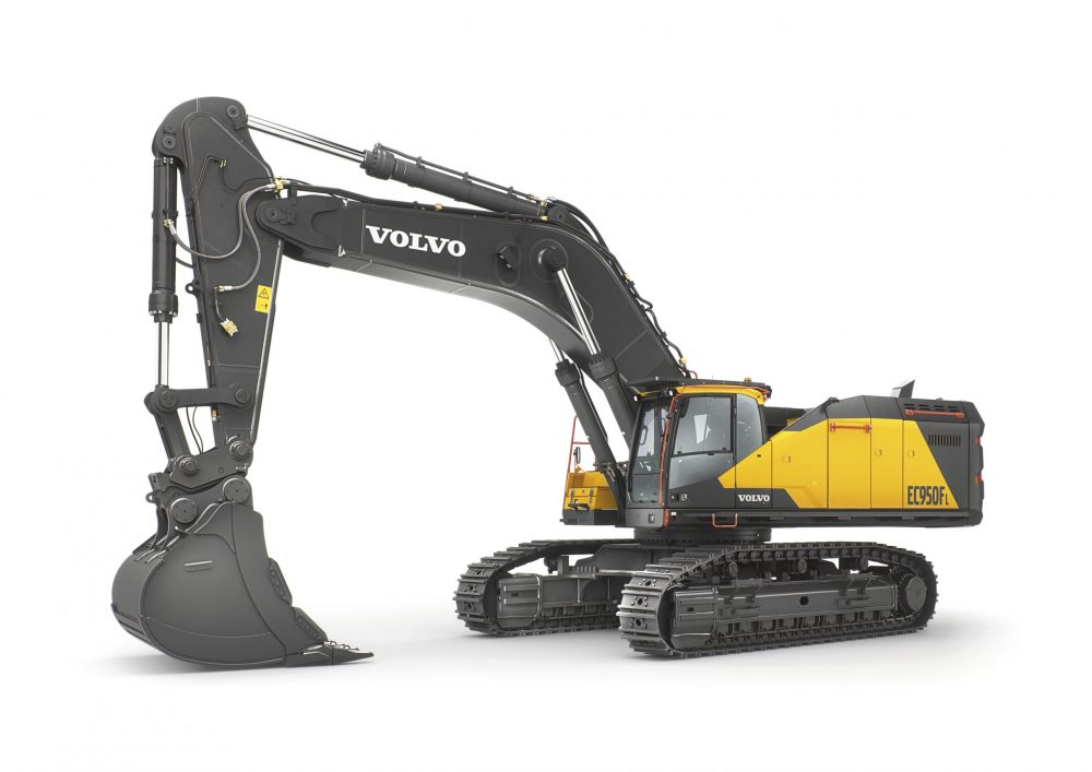 Volvo Construction Equipment 90-tonne excavator now available worldwide