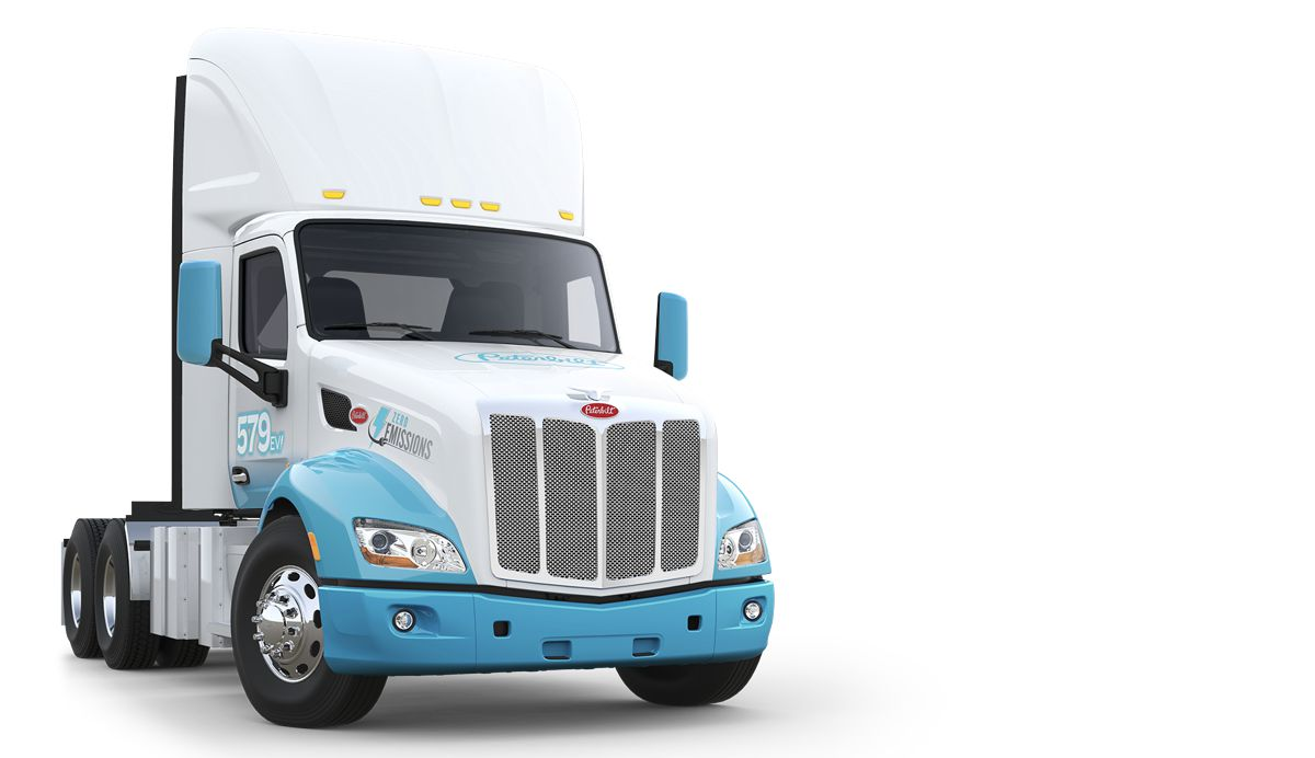 Peterbilt announces electric truck updates and collaborations for CES2020