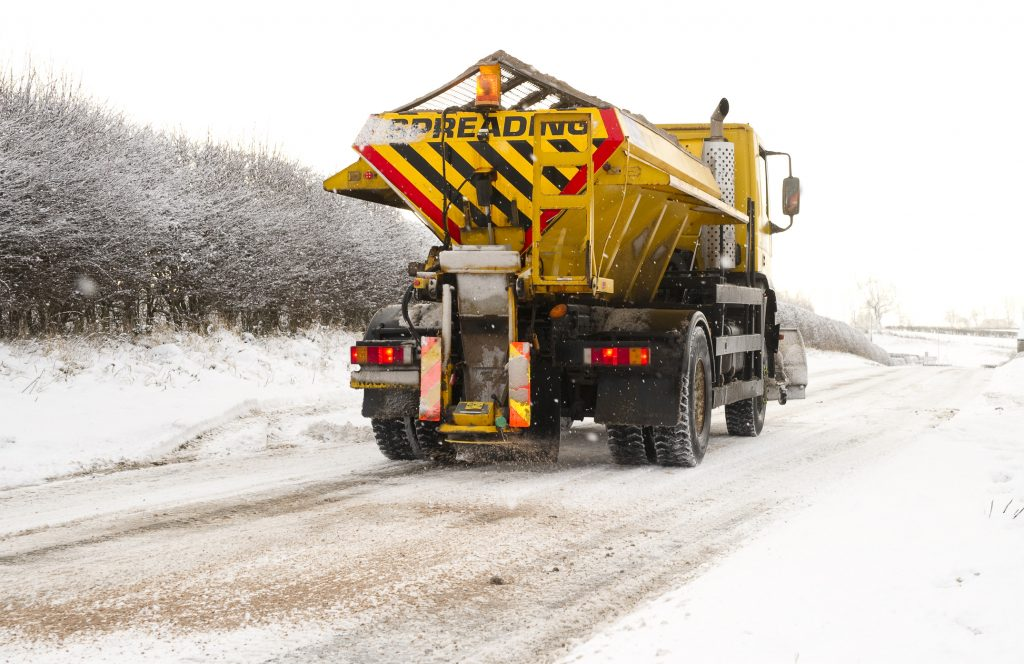 Kier Highways' gritters hit the road thanks to A1 Training