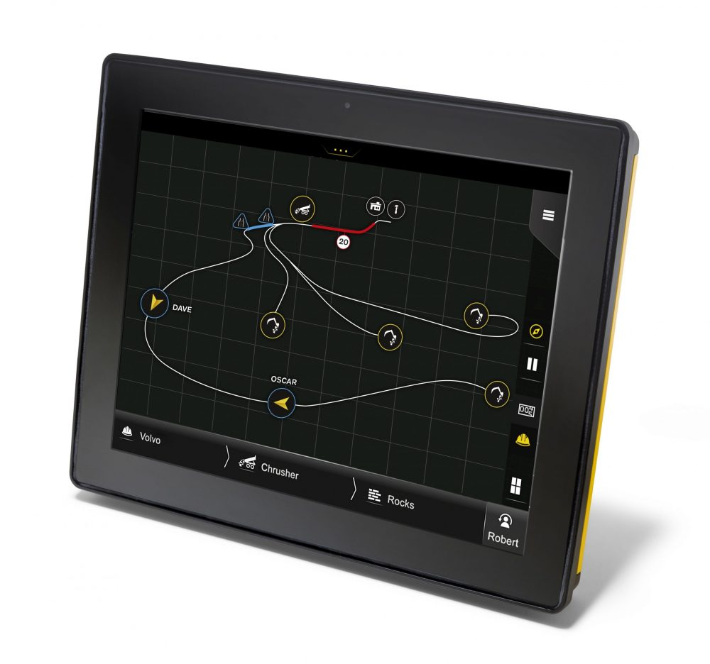 With a large, easy-to-use layout, the award-winning 10'' touchscreen provides a clear visualization of current machine activities.