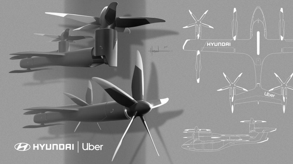 Uber and Hyundai announce flying rideshare partnership at CES2020
