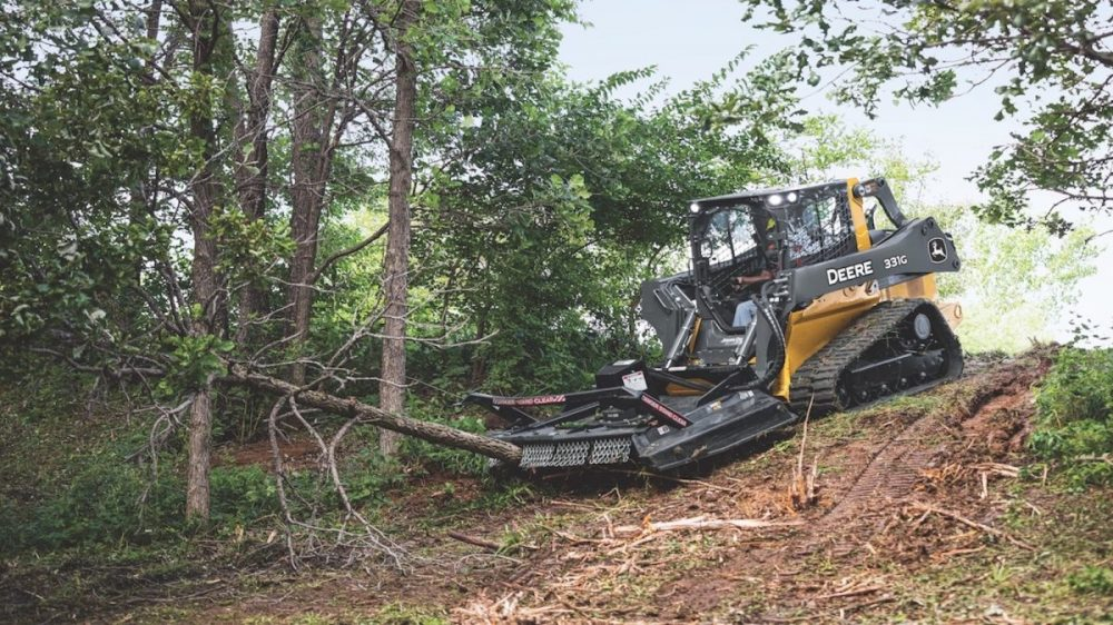 New John Deere rotary cutters make clearing challenging ground a breeze