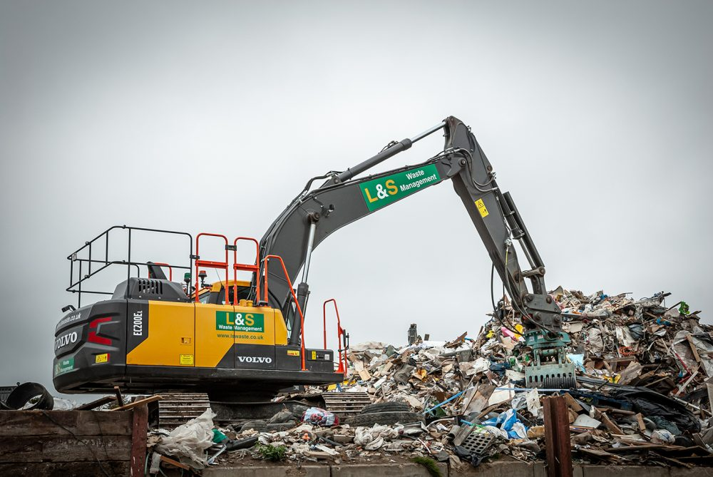 Portsmouth recycling centre brings in the Volvo specialists