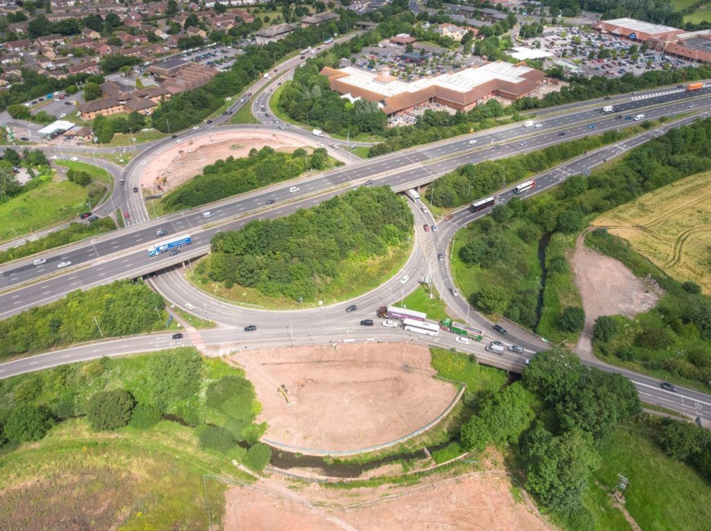 Siemens Mobility supplying signals for M5 junction improvement programme