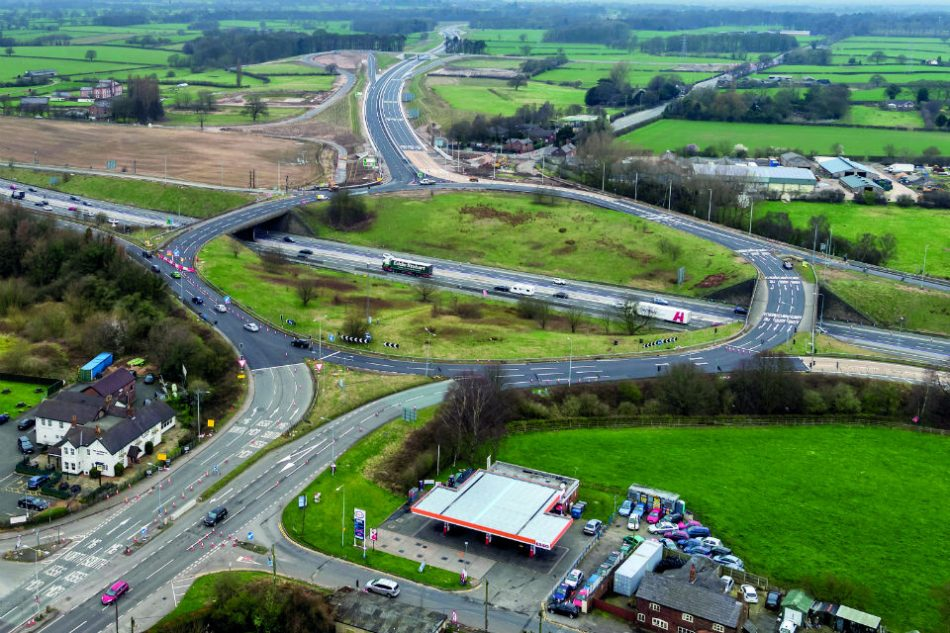 Highways England holding information events for major Knutsford M6 junction works
